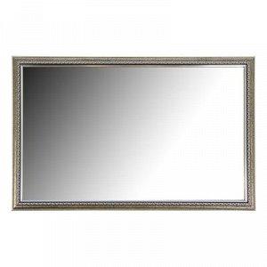 Зеркало «Макао», настенное серебро, 45х70 см, рама пластик, 33 мм