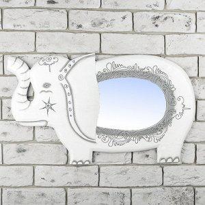 """Панно зеркальное """"Слоник"""" 1,5х33х60 см"""