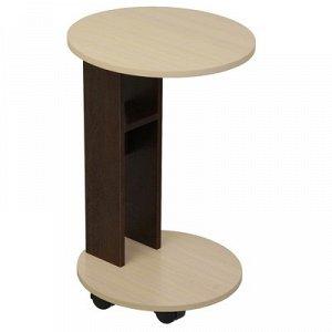 Придиванный столик 4 450х430х670Венге/комб дуб выбеленный