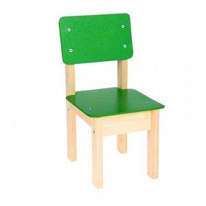 Стул детский №1 (Н=220), цвет зелёный