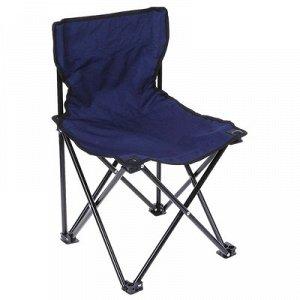 Кресло турист, складное 35х35х56 см, до 90 кг, цвет синий