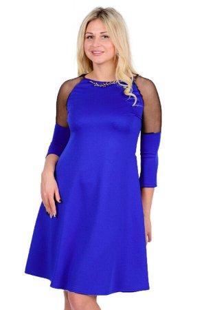 Платье П 669 (васильковый)
