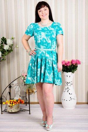 Платье П 380 (малахит)