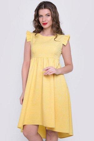 """Платье """"Бони"""" (желтое),"""