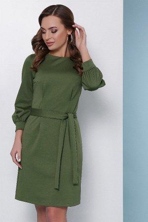 Платье 1701 оливковый