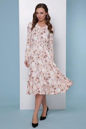 Платье 1815 пудровый