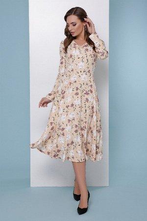 Платье 1815 бежевый