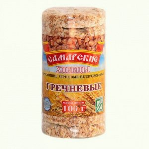 Хлебцы круглые Гречневые, 100г