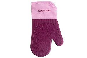Силиконовая варежка-прихватка розовая - Tupperware®