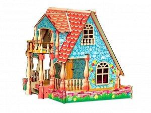 Кукольный домик УСАДЬБА цветной