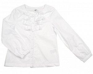 Блузка белая для школы 128 размер