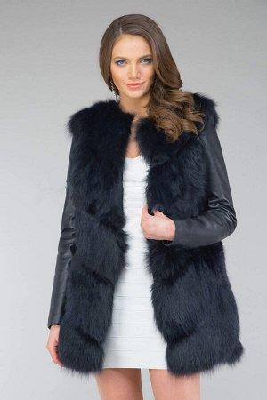 Куртка из натуральной итальянской кожи