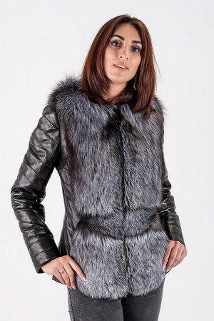 Куртка-жилет трансформер, рукава отстегиваются. Длина изделия 65 см.