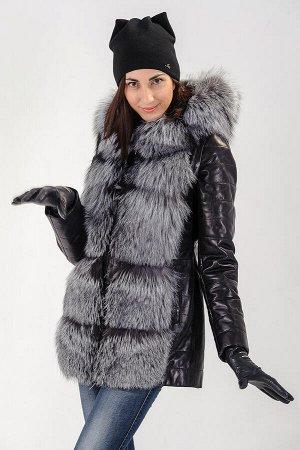 Куртка-жилет трансформер, рукава отстегиваются. Длина изделия 75 см.