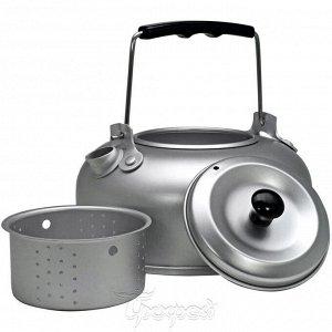 Чайник алюминий 1000мл с ситечком для заваривания HS-NP 010071-00 Helios