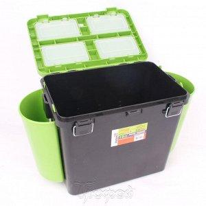 Ящик зимний FishBox односекционный (19л) зеленый Helios
