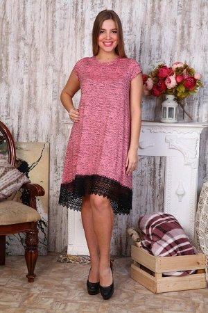 Д466 Платье Камила (розовая березка)