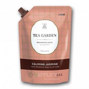 "LION Средство для мытья посуды Chamgreen Tea Garden ""Жасмин"", мягкая упаковка"
