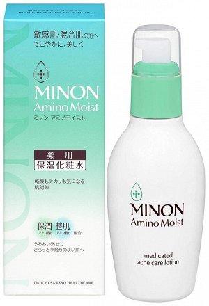 Daiichi Sankyo Minon Amino Moist Lotion - лосьон для чувствительной кожи склонной к высыпаниям