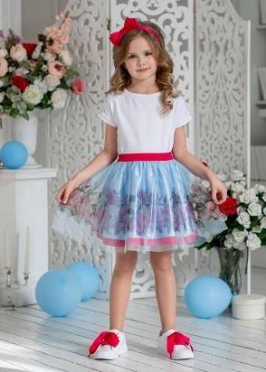 ALO❄LIKA. Школа+ праздничная коллекция — Хлопковые юбки, шорты. — Для девочек