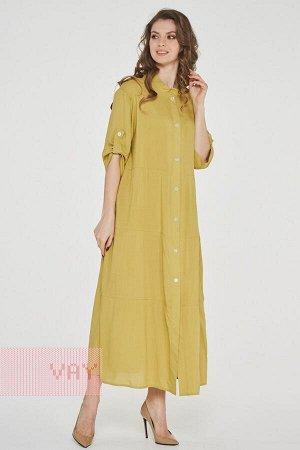 Платье-рубашка женское 191-3514