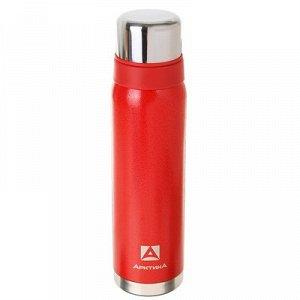 Термос , 900 мл, вакуумный, красный
