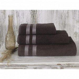 Полотенце Petek, размер 70 х 140 см, цвет коричневый