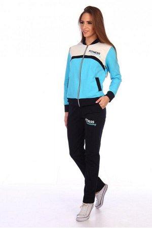 Спортивный костюм № 603 голубой