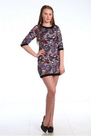 Платье № 139 восточный узор