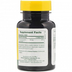 Nature&#x27 - s Plus, Цинк, 10 мг, 90 таблеток