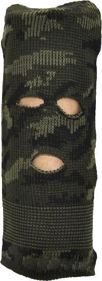 Шапка-маска (балаклава) зеленая