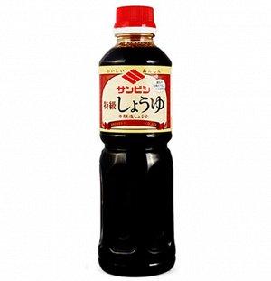 Соевый соус истинного брожения классический Sanbishi   500 мл.  /Япония/