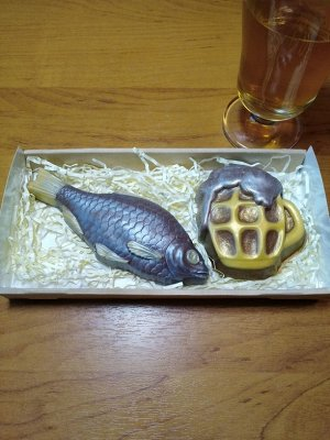 Рыба Только РЫБА!  Вес 95+-5гр. Размер 14*5.2*2.1 см. Упаковано в коробку! Кружка или набор в другом артикуле.