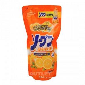 """Жидкость для мытья посуды """"Fresh - свежесть апельсина"""", сменная упаковка"""