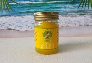 Тайский желтый бальзам PHU CHI VOX, 50 гр.