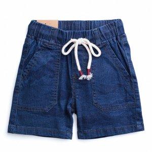 Шорты детские текстильные джинсовые для мальчиков