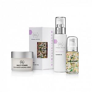 Очищение, тонизация, питание для кожи!  — MULTIVITAMIN. Линия с витаминным комплексом.Возраст 25+ — Защита и питание