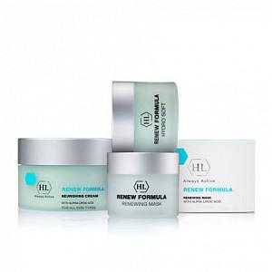 Очищение, тонизация, питание для кожи!  — RENEW Formula-Линия с антиоксидантами,20+ — Увлажнение