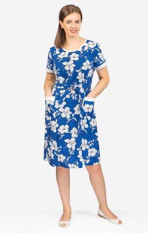 Платье с карманами, вариант 5 (528-5)