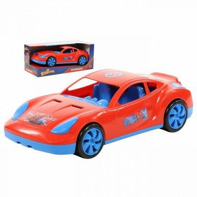"""Полесье. Любимые игрушки из пластика. Успеем до повышения — Автомобиль Marvel """"Мстители — Машины, железные дороги"""