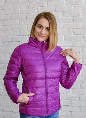 Ультралегкая женская куртка, цвет фиолетовый