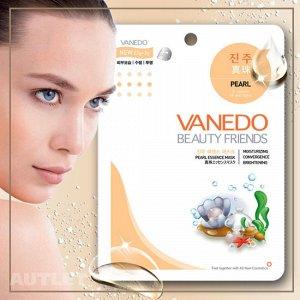 All New Cosmetic Vanedo Beauty Friends Регенерирующая маска для лица с эссенцией жемчуга 25 гр