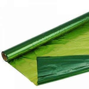 Полисилк метал зеленый-салатовый 1х20м