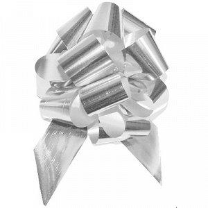 Бант шар металлик Серебро 5см