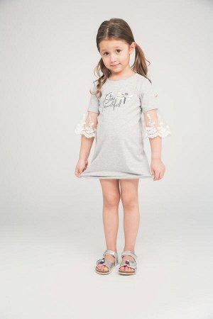 Платье трикотажное для девочек 104