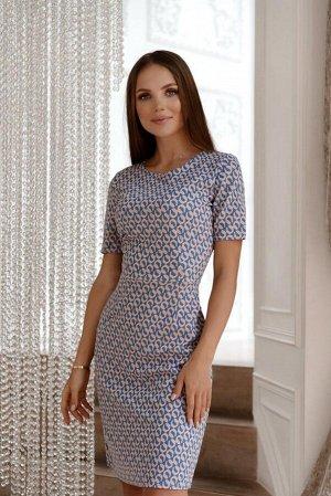 Трикотажные платье