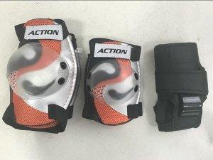 Защита в комплекте PW-307E L оранжевая (1/25)