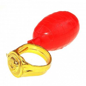 Прикол «Кольцо - брызгалка»
