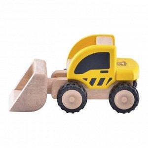 """Деревянная игрушка Miniworld """"Погрузчик"""""""