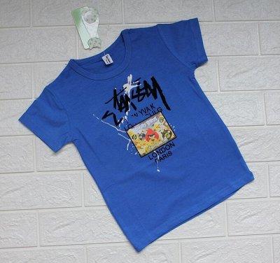 Мегахозы для дома, кухни, ванны! Распродажа — Яркие футболки для МАЛЬЧИКОВ, рисунок заливка! ХЛОПОК — Для мальчиков